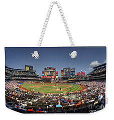 Take Me Out To The Ballgame Weekender Tote Bag