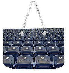 Take Me Out To The Ballgame Weekender Tote Bag by Frozen in Time Fine Art Photography