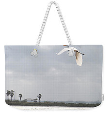 Weekender Tote Bag featuring the photograph Take Off by Erika Weber