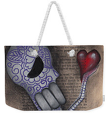Take This Weekender Tote Bag by Abril Andrade Griffith