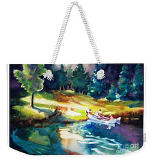Taking A Break 2 Weekender Tote Bag