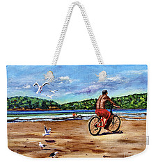 Taking A Ride  Weekender Tote Bag