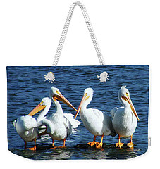 Taking In The Sun Weekender Tote Bag by Lizi Beard-Ward