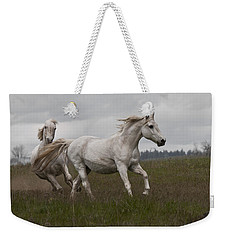 Weekender Tote Bag featuring the photograph Talegating 5924 by Wes and Dotty Weber