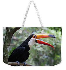 Talkative Toucan Weekender Tote Bag