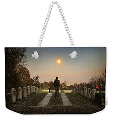 Talking To The Moon Weekender Tote Bag