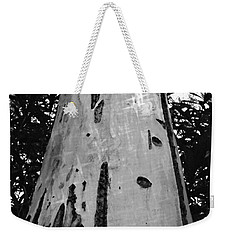 Weekender Tote Bag featuring the photograph Tall by Clare Bevan