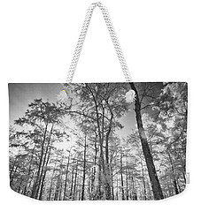 Tall Cypress Trees Weekender Tote Bag