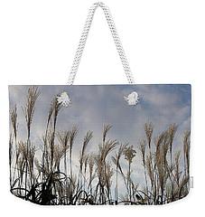 Tall Grasses And Blue Skies Weekender Tote Bag