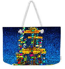 Tall Ship Jose Gasparilla Weekender Tote Bag by David Lee Thompson