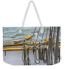 All Knots Weekender Tote Bag by Dale Powell