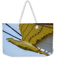 Tall Ship Uscg Barque Eagle Masthead Weekender Tote Bag