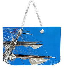 Tall Ship Yards Weekender Tote Bag