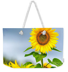 Weekender Tote Bag featuring the photograph Taller Than Most by Mike Ste Marie