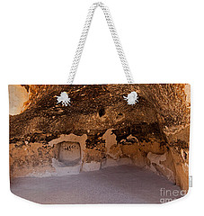 Talus Housefront Room Bandelier National Monument Weekender Tote Bag