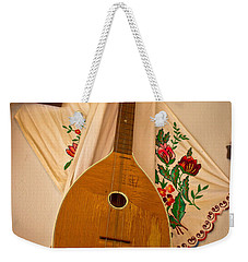Tamburica Croatian Traditional Music Instrument Weekender Tote Bag by Brch Photography