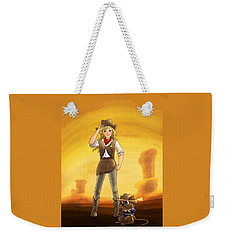 Tammy And Alfred Tame The West Weekender Tote Bag by Reynold Jay