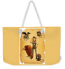Tammy And The California Gold Rush Weekender Tote Bag by Reynold Jay