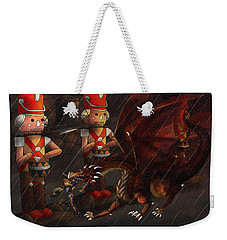 Tammy And The Korgoyle Weekender Tote Bag by Reynold Jay