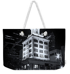 Tampa's Old City Hall Weekender Tote Bag by Marvin Spates
