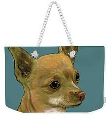 Tan Chihuahua Weekender Tote Bag