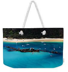 Tangalooma Wrecks Weekender Tote Bag