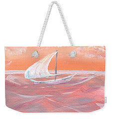 Tangerine Dream Weekender Tote Bag by Heather  Hiland