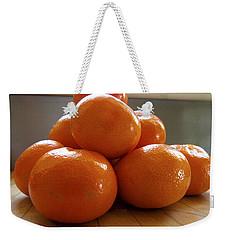 Tangerined Weekender Tote Bag by Joe Schofield