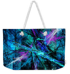 Weekender Tote Bag featuring the photograph Tangled Web by Sylvia Thornton