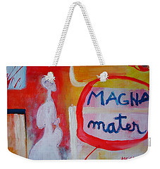 Weekender Tote Bag featuring the painting Tango by Ana Maria Edulescu
