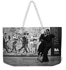 Tango Dancers In Buenos Aires Weekender Tote Bag by Venetia Featherstone-Witty