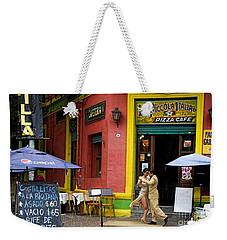 Tango Dancing In La Boca Weekender Tote Bag