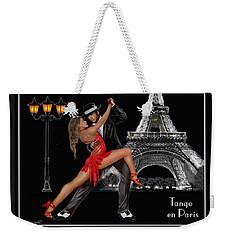 Tango En Paris Weekender Tote Bag by Glenn Holbrook