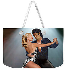 Tango - The Passion Weekender Tote Bag by Glenn Holbrook