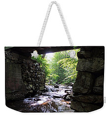 Tannery Hill Bridge Weekender Tote Bag by Mim White