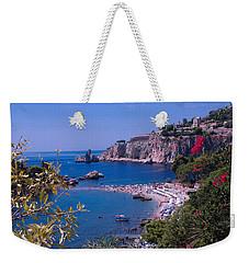 Taormina Beach Weekender Tote Bag