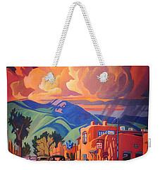 Taos Inn Monsoon Weekender Tote Bag by Art James West