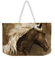 Weekender Tote Bag featuring the photograph Taos by Priscilla Burgers