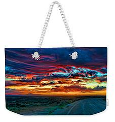 Taos Sunset Iv Weekender Tote Bag