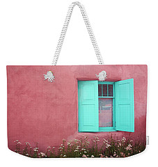 Taos Window I Weekender Tote Bag by Lanita Williams