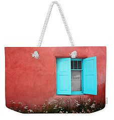 Taos Window Iv Weekender Tote Bag by Lanita Williams