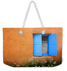 Taos Window V Weekender Tote Bag by Lanita Williams
