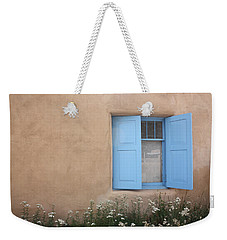 Taos Window Vi Weekender Tote Bag by Lanita Williams