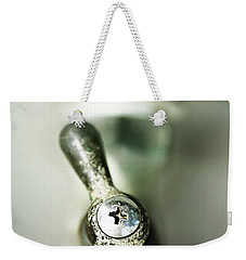 Weekender Tote Bag featuring the photograph Tap Into Your Life by Trish Mistric