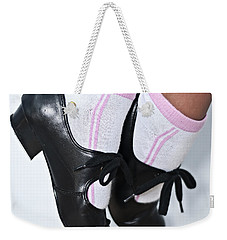 Tap Dance Shoes From Dance Academy - Tap Point Tap Weekender Tote Bag