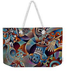Tapestry Of Gods - Tlaloc Weekender Tote Bag