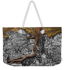 Taproot Weekender Tote Bag by Mary Jo Allen