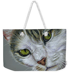 Tara Cat Art Weekender Tote Bag