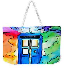 Tardis Illustration Edition Weekender Tote Bag