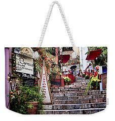 Taormina Steps Sicily Weekender Tote Bag